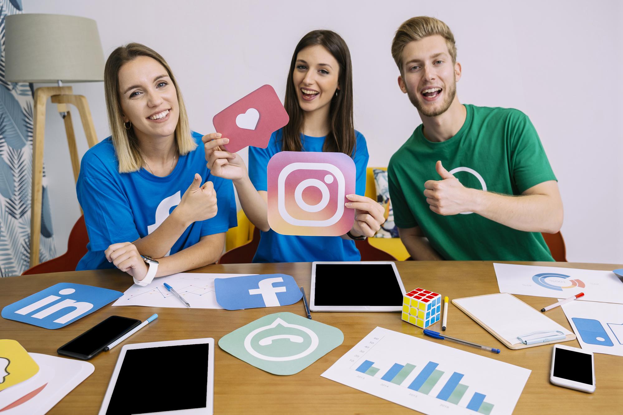 Redes Sociales. ¿Cuáles son las principales y por qué debes  tenerlas?