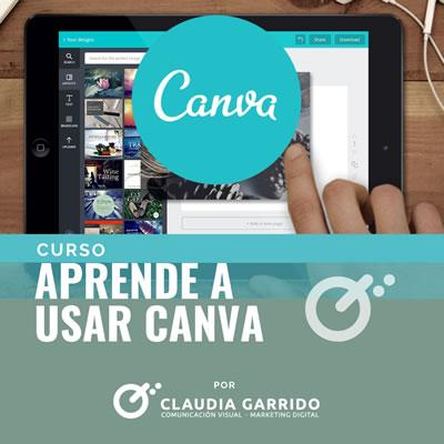 Claudia Garrido Curso Aprende Canva