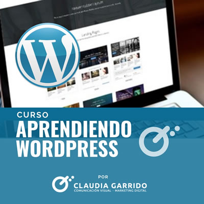 Claudia Garrido Curso Aprendiendo Wordpress