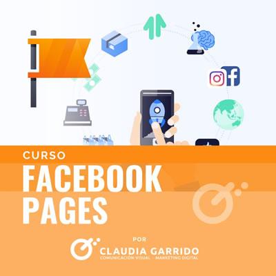 Claudia Garrido Curso Facebook Pages