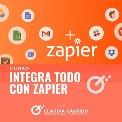 Claudia Garrido Curso Integra todo con Zapier
