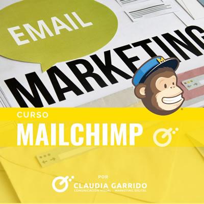 Claudia Garrido Curso Mailchimp