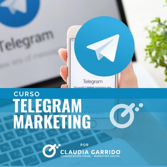 Claudia Garrido Curso Telegram Marketing