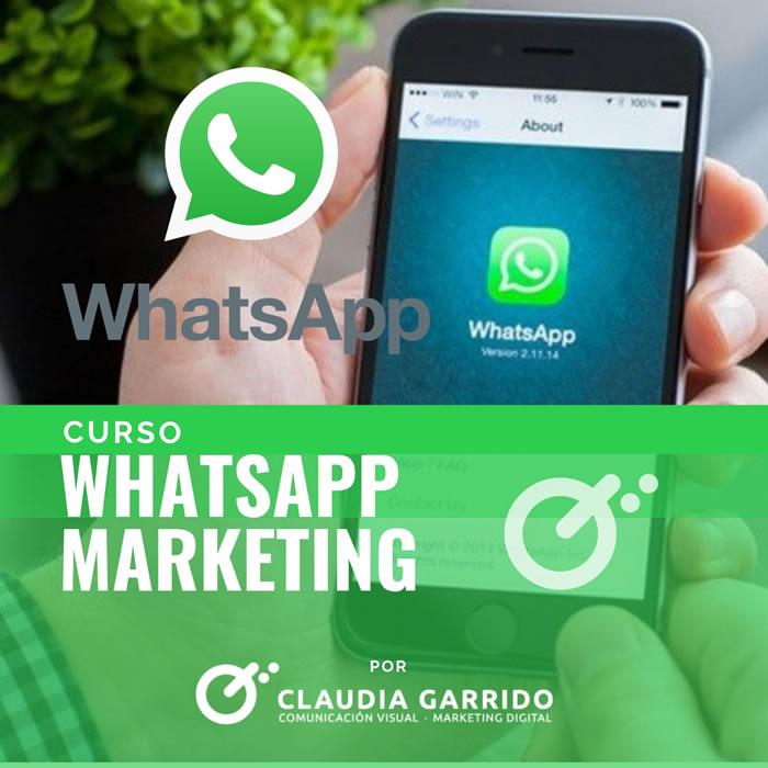 Claudia Garrido Curso Whatsapp Marketing
