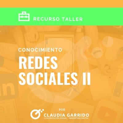 Claudia Garrido Recursos Redes Sociales