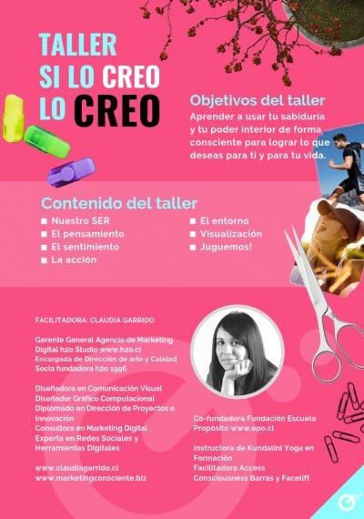 Claudia Garrido - Taller Diseñando Mi Vida 2