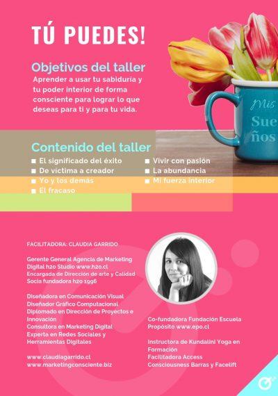 Claudia Garrido - Taller Marca Personal 2